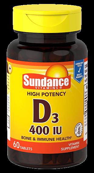 Vitamin D3 400 IU
