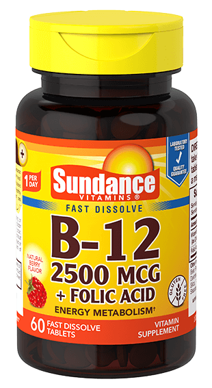 Vitamin B-12 2500 plus Folic Acid
