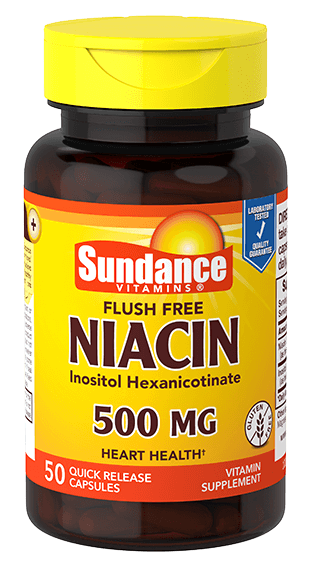 Flush Free Niacin 500 mcg
