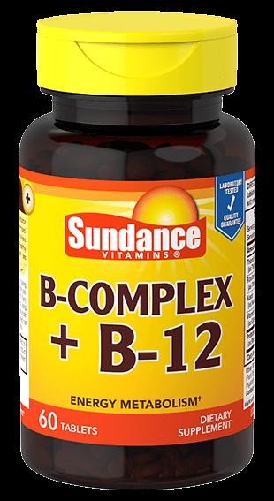 Vitamin B Complex plus B12