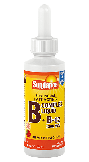Vitamin B Complex plus B12 Liquid