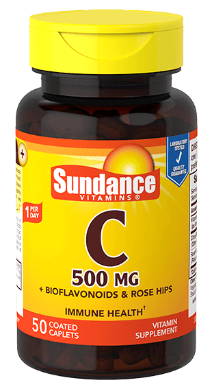Vitamin C 500 mg with Bioflavanoids and Rosehips
