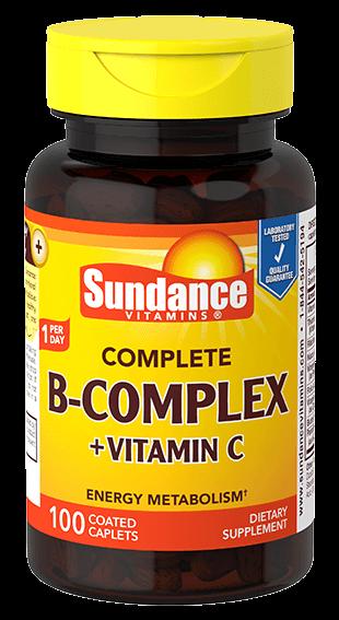 Complete B Complex plus Vitamin C