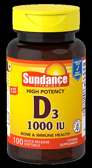 Vitamin D3 1000 IU