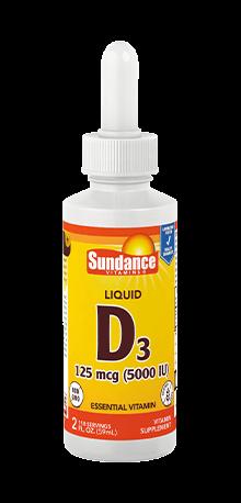 Vitamin D3 125 mcg (5000 IU) Liquid