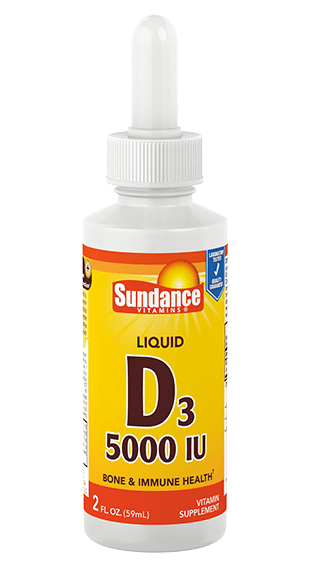 Vitamin D3 5000 IU Liquid