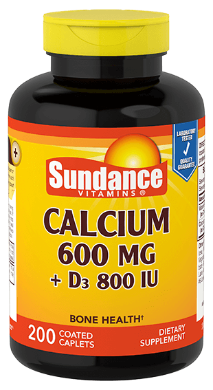 Calcium 600 mg plus D3