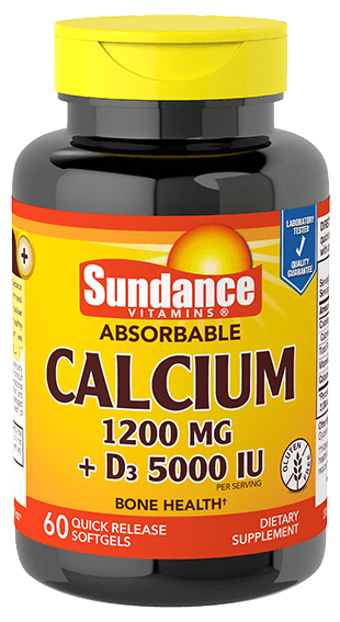 Calcium 1200 mg plus D3