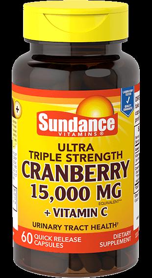 Ultra Triple Strength <br>Cranberry 15,000 mg**