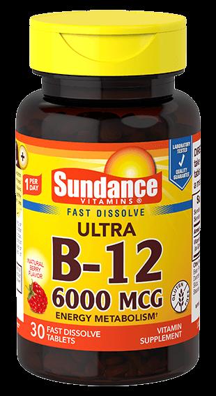 Vitamin B-12 6000 mcg