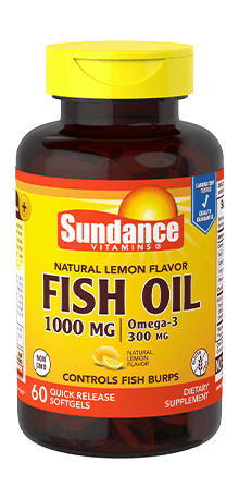 Natural Lemon Fish Oil 1000 mg