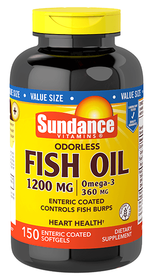 Odorless Fish Oil 1200 mg