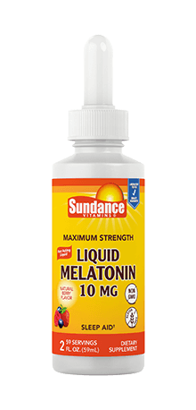 Maximum Strength Liquid Melatonin 10 mg