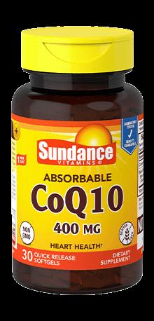 Absorbable CoQ10 400 mg
