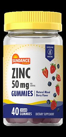 Zinc Gummies<br> 50 mg